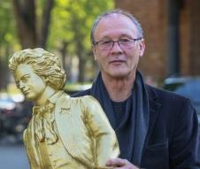 """Ottnar Hörl mit seinem """"goldenen Ludwig"""""""